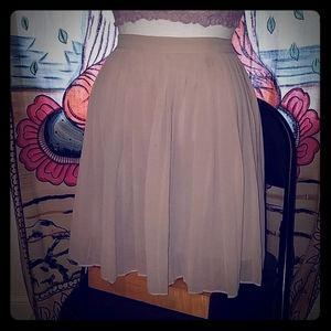 Forever 21- Pleated Chiffon Skirt